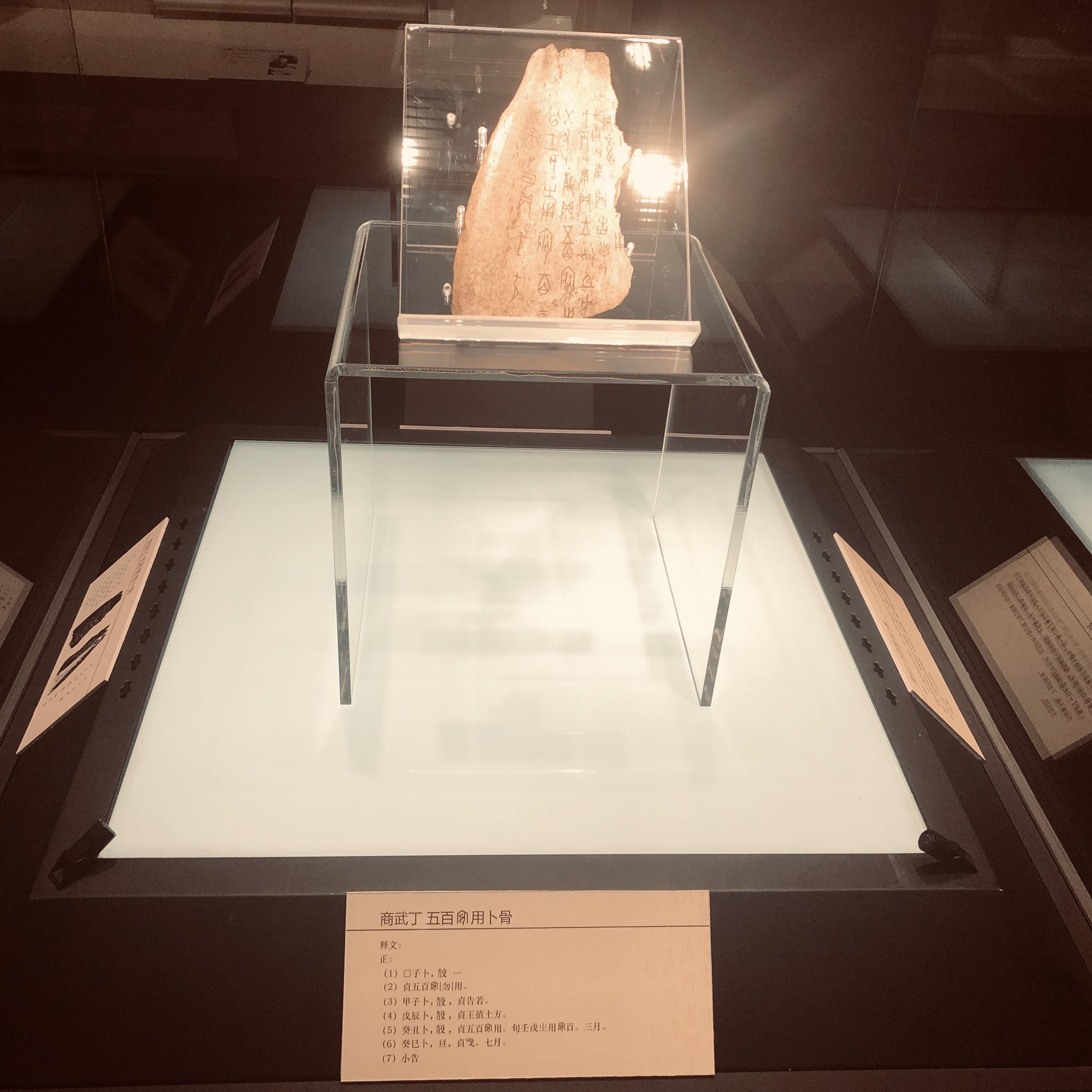 甲骨文字発見120周年記念特別展開催 中国・天津