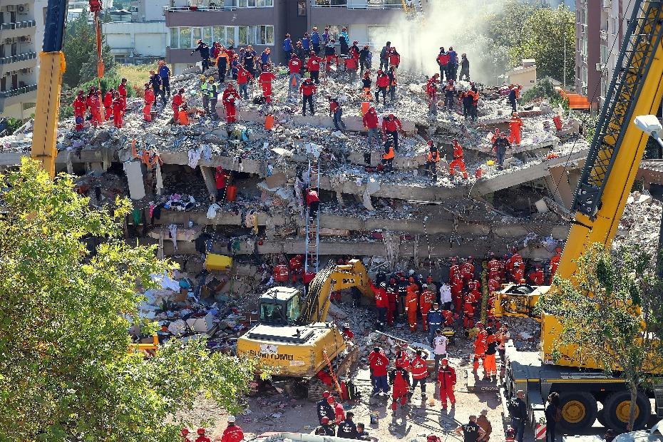 土耳其停止震后搜救 遇难人数升至116人